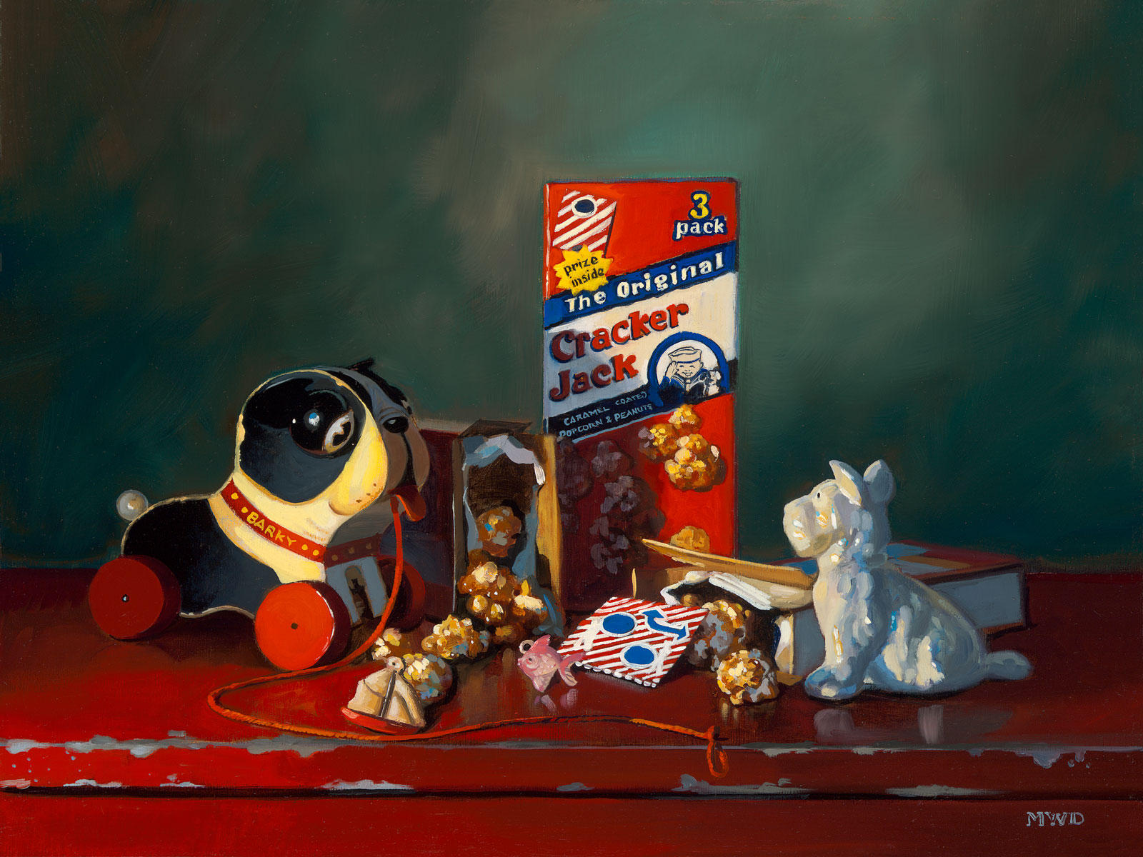 Toys For Painting : Oil paintings michelle waldele fine art painter of