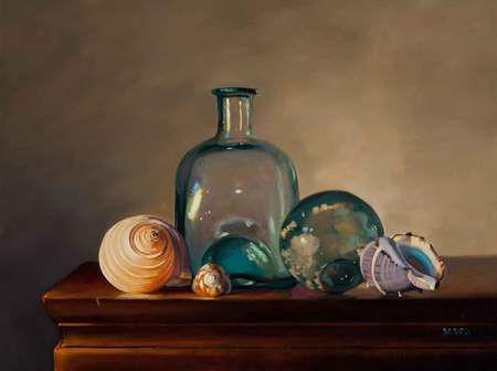 Green Glass and Shells
