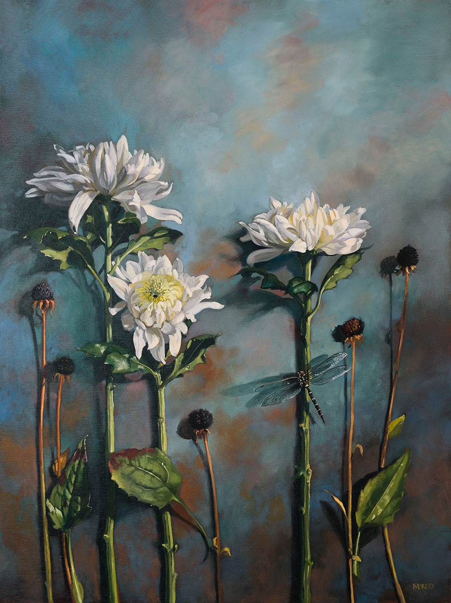 Chrysanthemums (Sold)